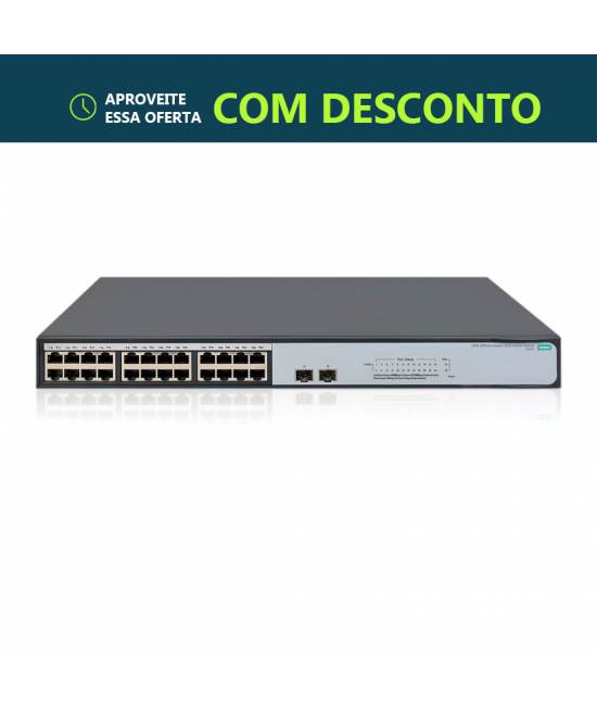 SWITCH HPE JH018A 24-PORT 1420-24 NOVO (esgotado)